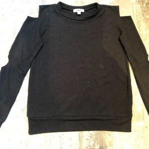 LNA Cold Shoulder Sweatshirt